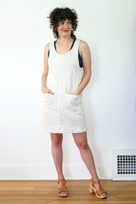 North Of West Caroline Dress - Fog