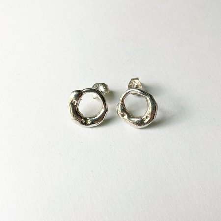 Monica Squitieri Palo Colorado Earrings - Silver
