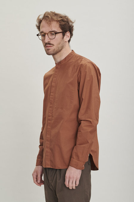 Delikatessen Cotton Zen Shirt - Rusty