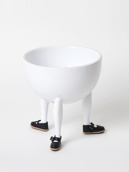 Chen Chen & Kai Williams Leg Bowl with Shoes Building Block - White