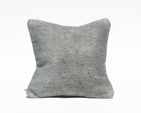 Collected by Wynne Ware Turkish Pillow Cover - Textured Blue