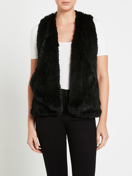 H Brand Courtney Vest - Black
