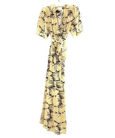 No.6 LUCIA DRESS - chartreuse fern