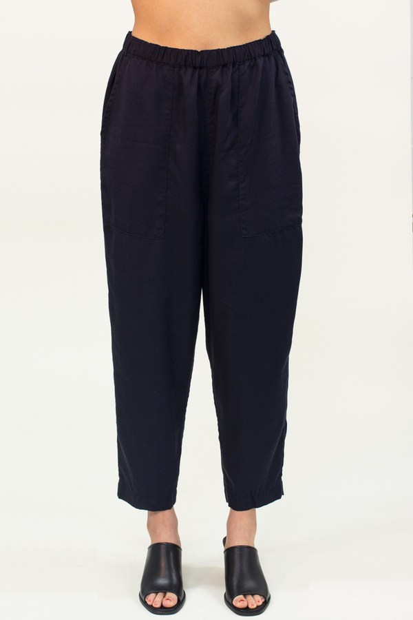 Universal Tissu Relaxed Pants- Navy