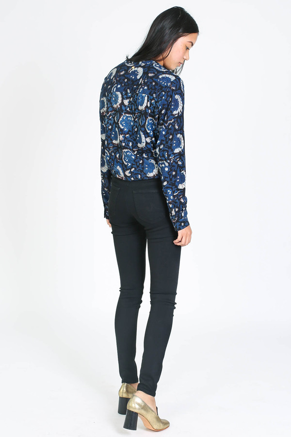 AG Jeans Farrah jean in super black
