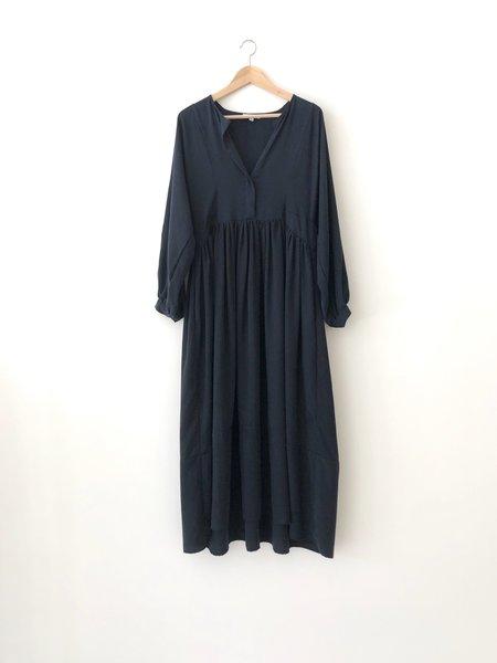 Kamperett CASSATT DRESS - NAVY