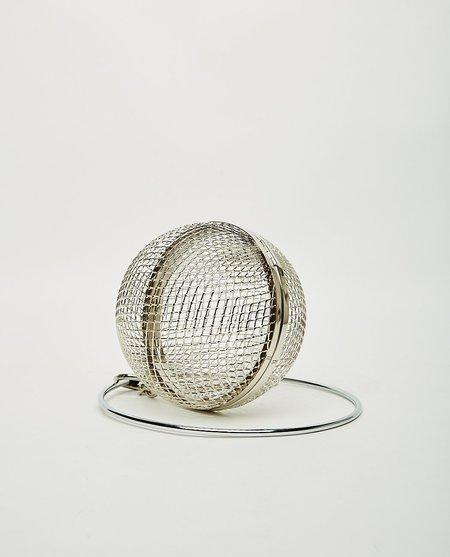 Martine Ali Ball Bag - Silver