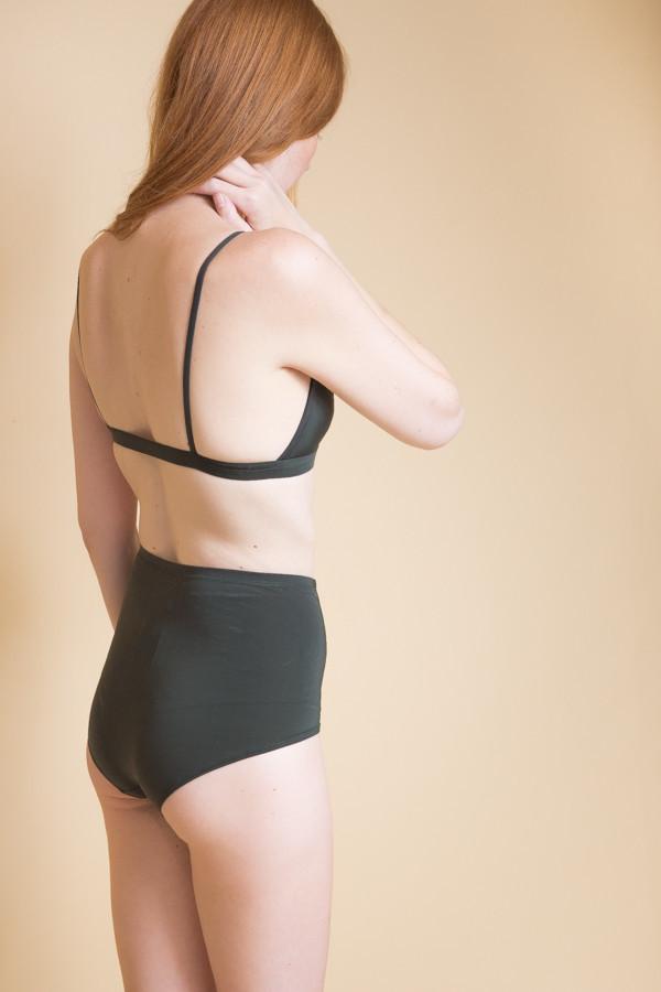 Land Of Women Super Soft Highwaisted Underwear - Forest