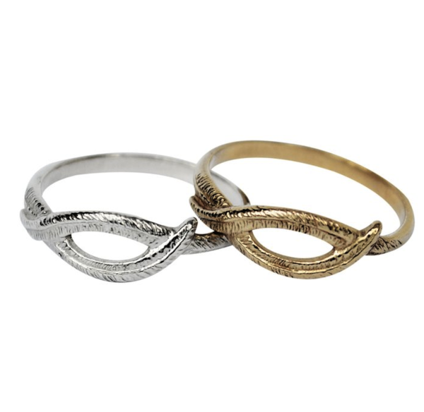 Stefanie Sheehan Woven Palm Ring