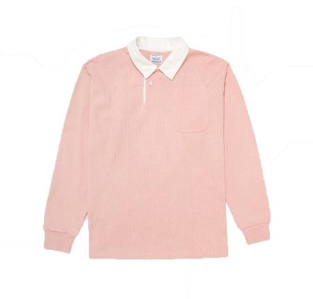 Garbstore Drop Out Sports Rugby Shirt - Pink