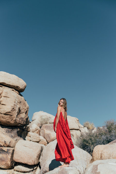 A PERFECT NOMAD SYROS DRESS