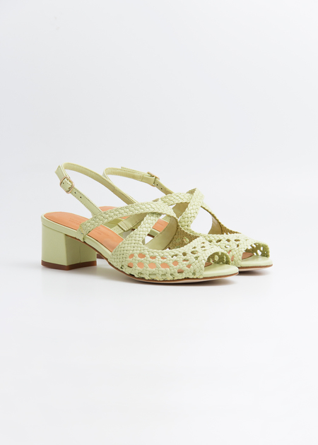 Naguisa Uga Sandals - green