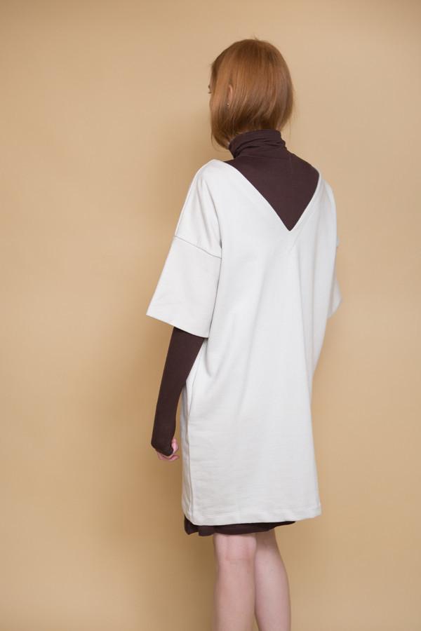 Kowtow Snap Shot Dress - Ivory