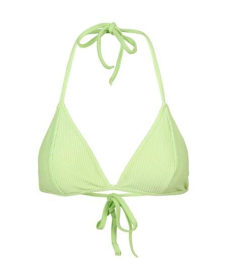 JUST FEMALE Isabella Bikini Top - Sap Green