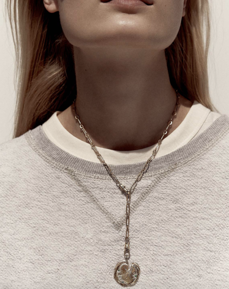 Pascale Monvoisin Calypso N°3 Necklace - 9K yellow gold