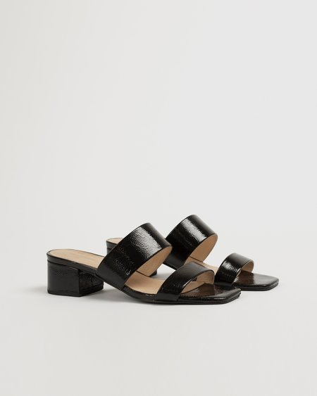 """""""INTENTIONALLY __________."""" Scamp sandals - Black"""