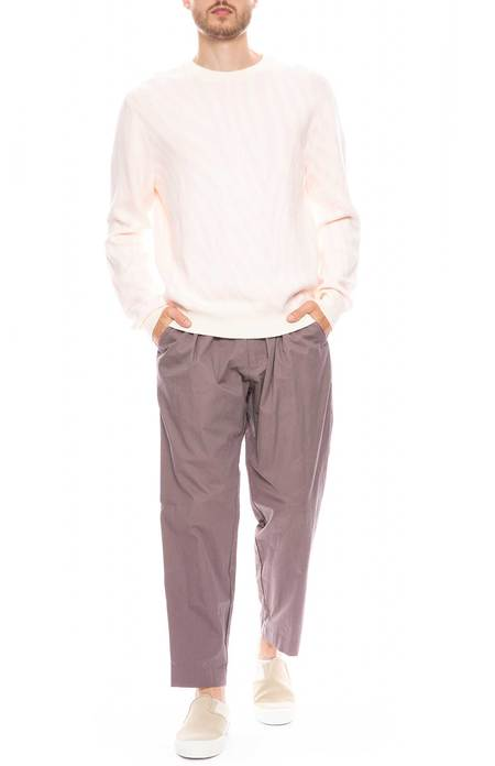Drifter Henderson Pleated Trousers - MAUVE
