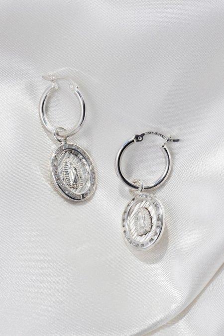 Tuza Jackpot Mary Earrings - Sterling Silver