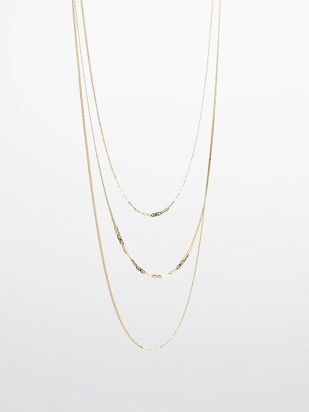 GJenmi River Chain Necklace - 14K GOLD