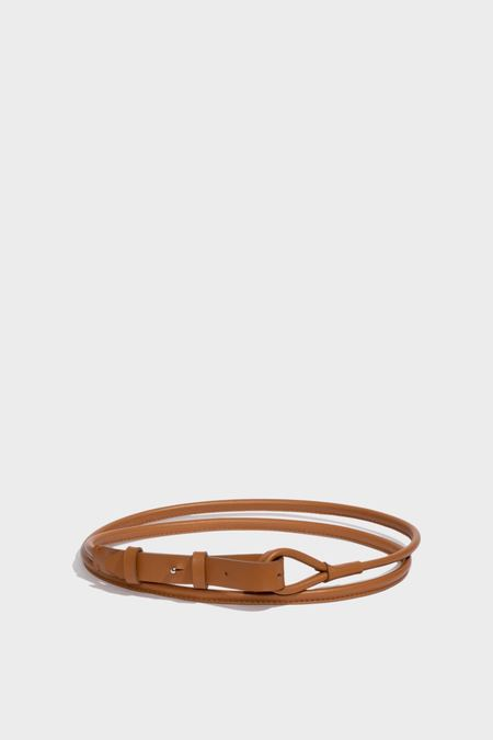Modern Weaving Skinny Waist Wrap Belt - Canyon