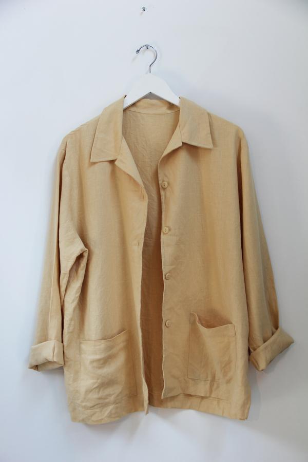 Hey Jude Vintage Linen Service Jacket
