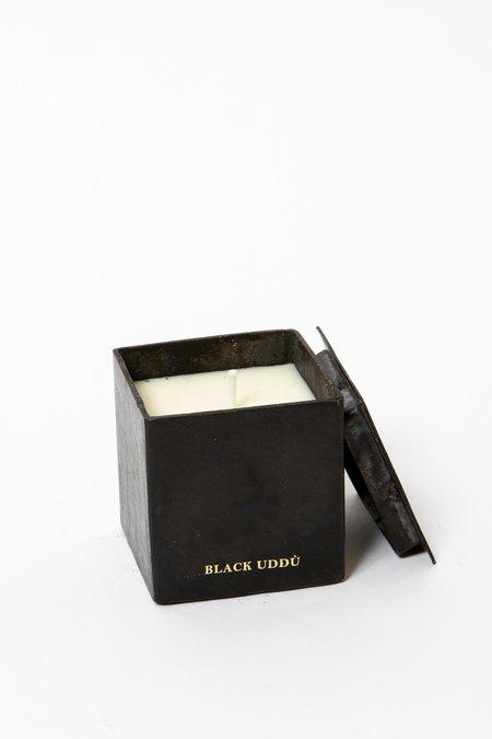 Mad et Len Black Uddu Black Block Candle