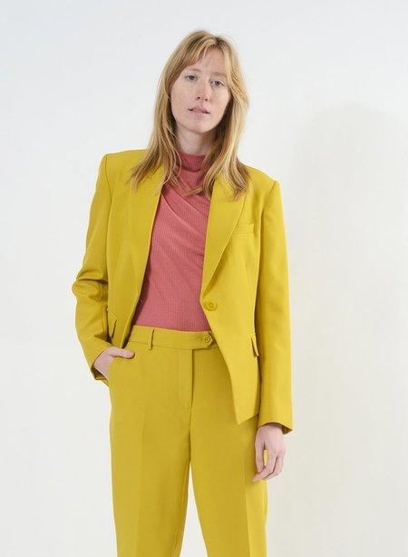 Meg Short Holden Blazer - Mustard