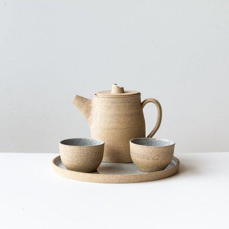Valérie Pelletier Speckled Stoneware Tea-pot - sand beige