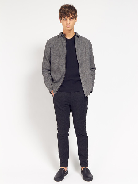 Men's Journal Ruffle Shacket