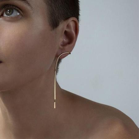 Annika Inez Fragment Earrings - 14k gold filled