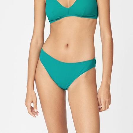 Araks Ulla Solid Bikini Bottom - Viridian