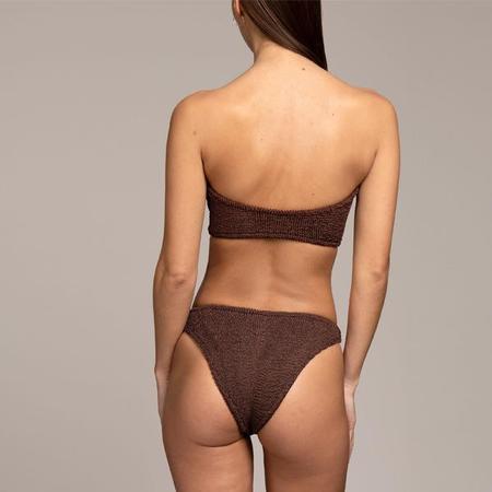 Hunza G Gloria Bandeau Bikini Set - Black