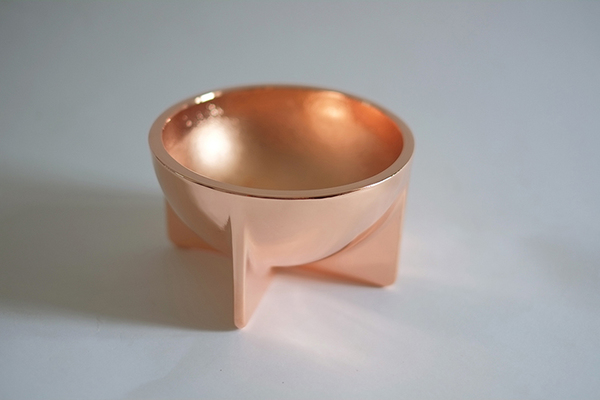 FORT STANDARD SMALL COPPER BOWL
