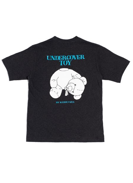 UNDERCOVER SHORT SLEEVE TEE - Charcoal