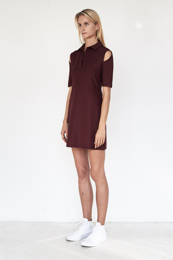 Tosia Pique Suspension Polo Dress