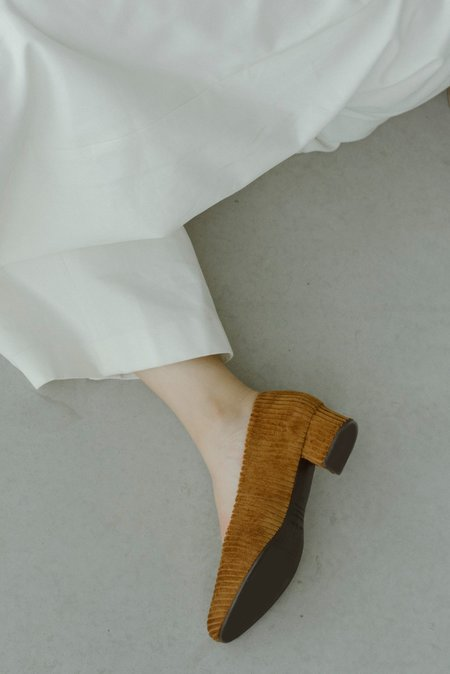 Anne Thomas Michèle Murritz heels - Cognac