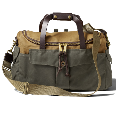 Filson Heritage Sportsman Bag - TAN/OTTER GREEN