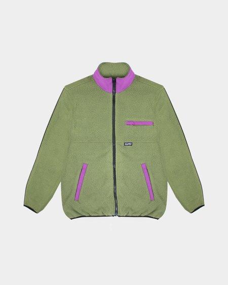 Stussy Nylon Mock Neck jacket - Olive