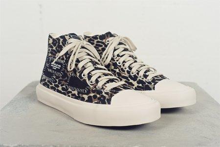 article nº Linen Canvas sneaker - Leopard