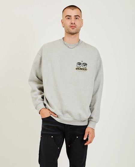 PURPLE P402 Sweatshirt - Heather Grey