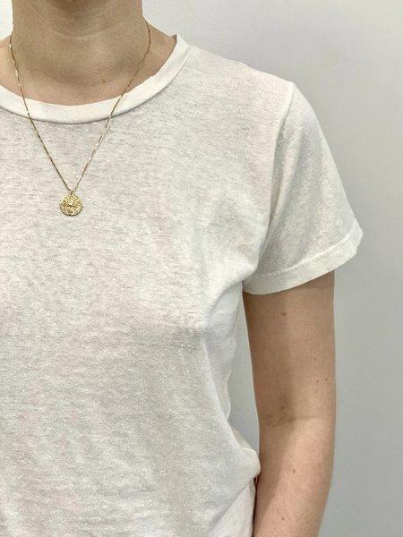 Jungmaven Unisex Lorel Tee - Washed White