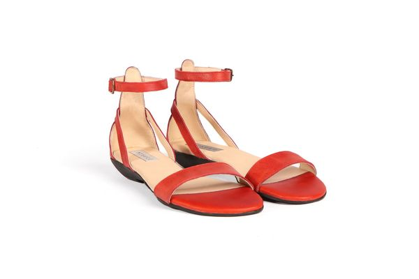 50 Serena Sandal Scarlet - What's It Worth