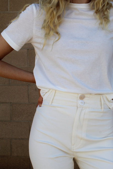 Maria Stanley Skinny Luna Pant - Coconut