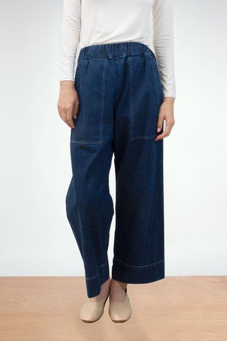Micaela Greg True Indigo Utility Pant