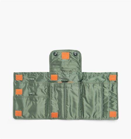 Porter Tanker Nylon Travel Case - Sage