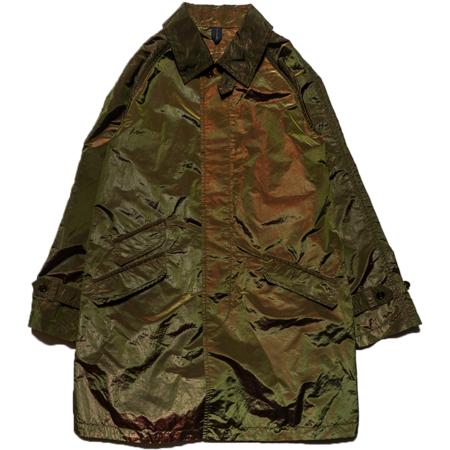 TS(S) Fly Front Raglan Sleeve Coat - Olive