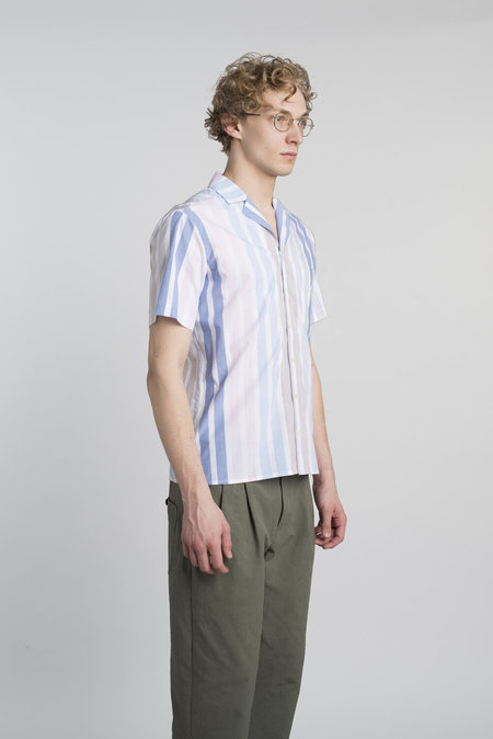 Delikatessen Finest Italian Cotton Short Sleeve Shirt