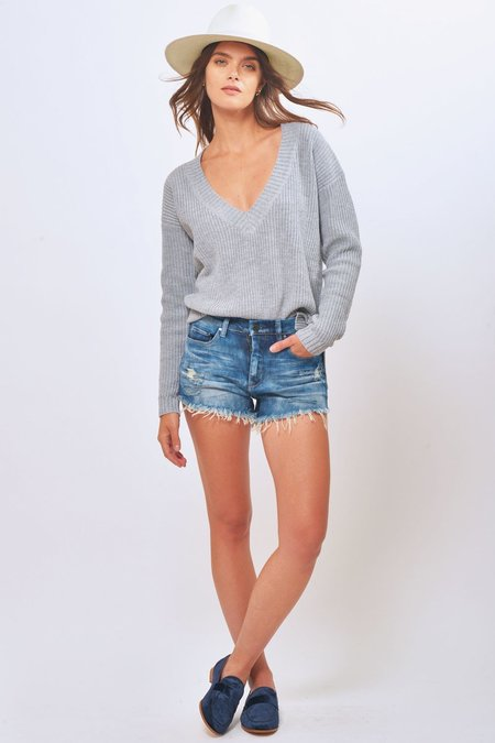BLANK NYC Fit of Rage Cut Off Jean Short - Blue
