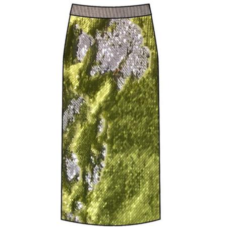 Le Superbe Liza Skirt - Limeade