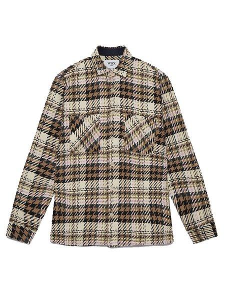 Wax London Whiting Shirt - Mint Beatnik